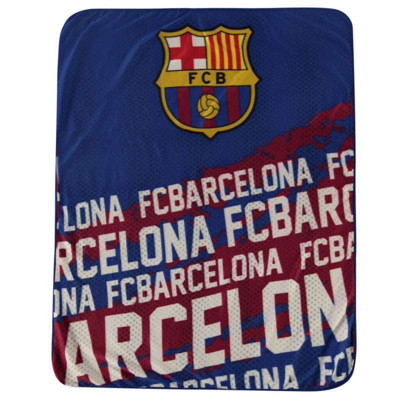 Team Fleece Blanket Barcelona