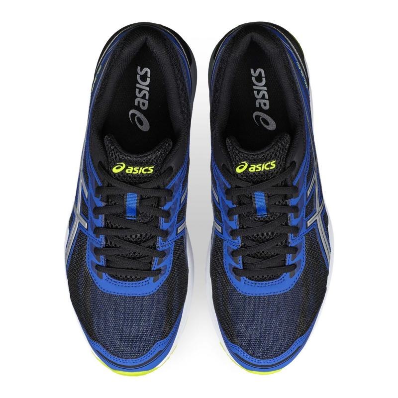 Asics Gel Sileo Mens Trainers Blue/Blk/Lime