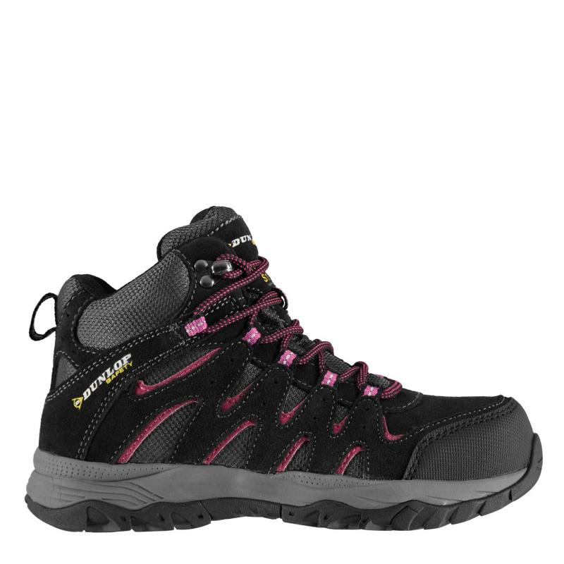 Dunlop Alabama Mid Ladies Steel Toe Cap Safety Boots Charcoal
