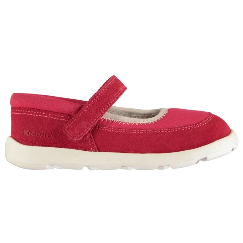 Kickers Childrens Shoes Dark Pink
