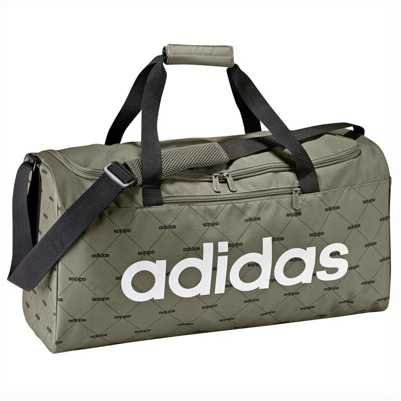 Adidas Linear Performance Teambag Medium Khaki AOP