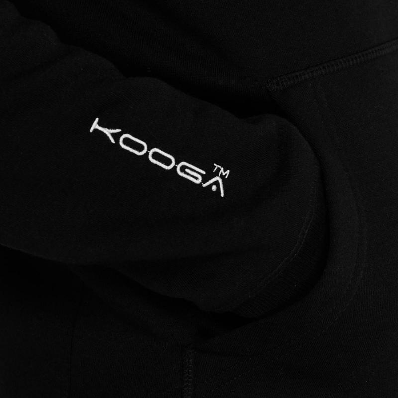 Mikina KooGa OTH Hoodie Senior BLACK/SILVER