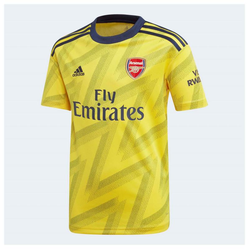 Adidas Arsenal Away Shirt 2019 2020 Junior Yellow