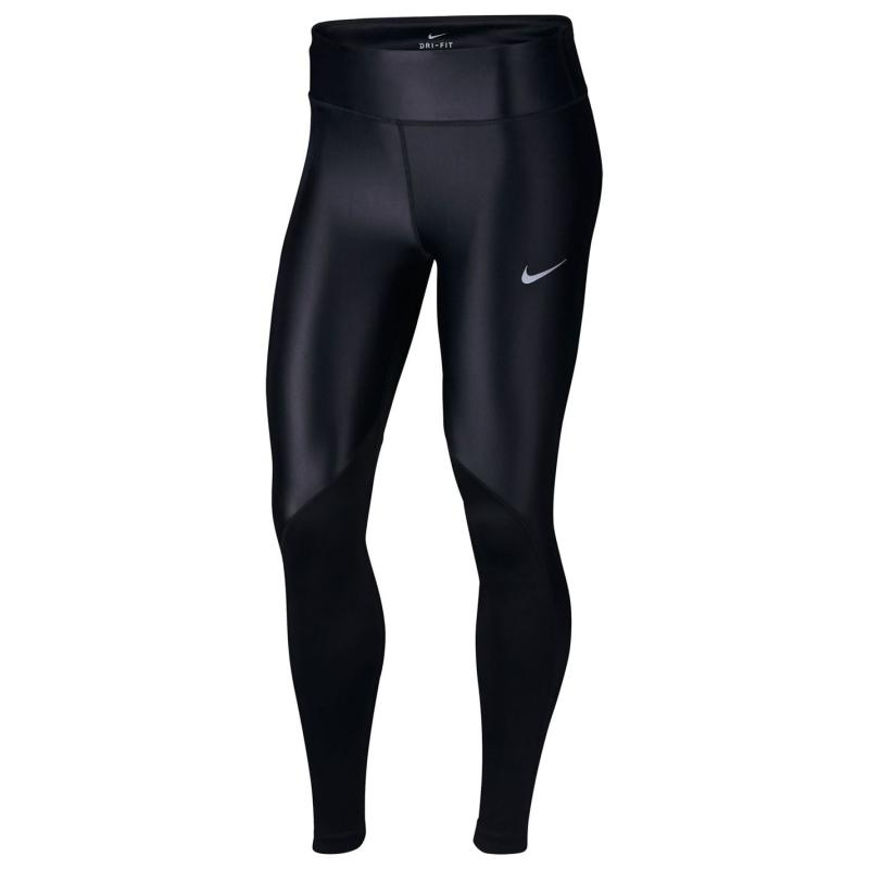 Legíny Nike Fast Tights Ladies Black/Reflect