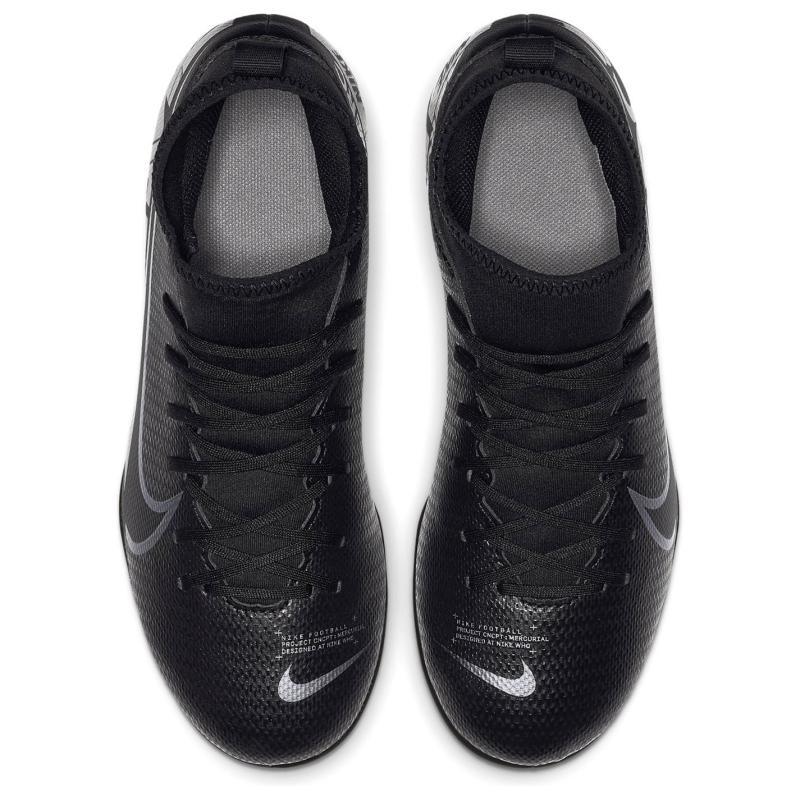 Nike Mercurial Superfly Club DF Junior FG Football Boots BLACK/MTLC COOL GREY-COOL GREY
