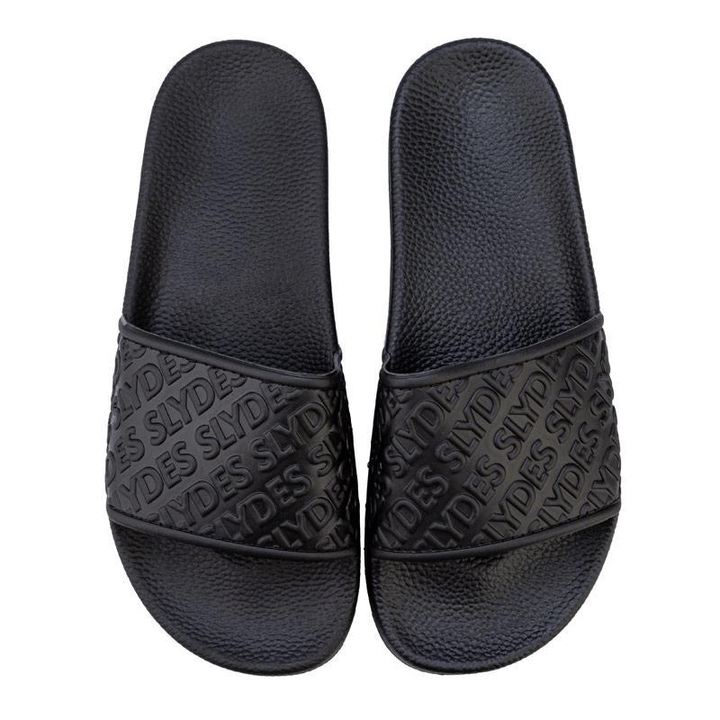 Boty Slydes Womens Chance Slide Sandals Black