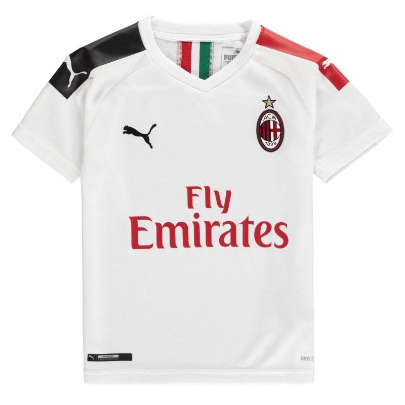 Puma AC Milan Shirt 2019 2020 Junior White/Red