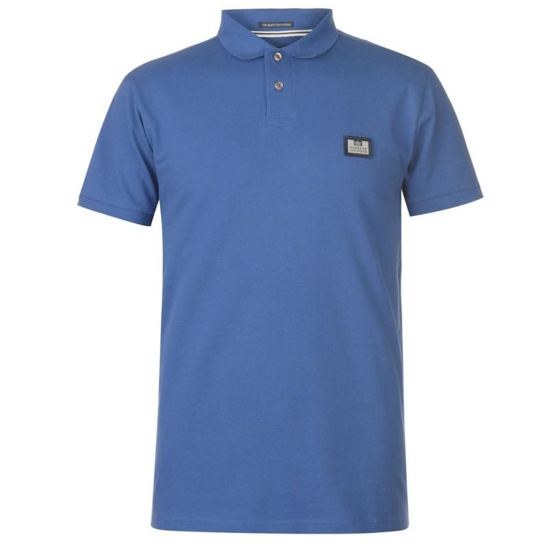 Weekend Offender Claudio Polo Shirt Reef Blue