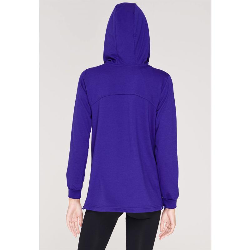 Mikina Training Zone Zip Hoodie Ladies Purple