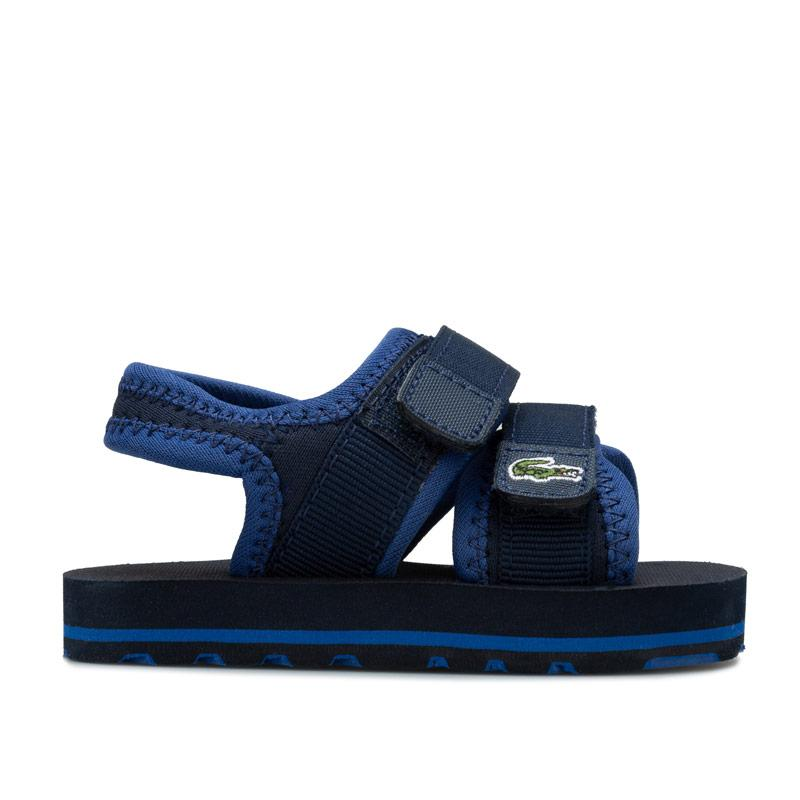 Boty Lacoste Infant Boy Sol Sandals Navy
