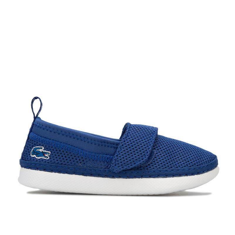 Boty Lacoste Infant Boys L.Ydro Slip on Beach Shoes Blue