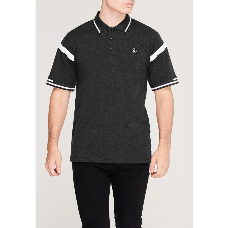 Jack and Jones Core Luke Polo Shirt Mens Black Mel