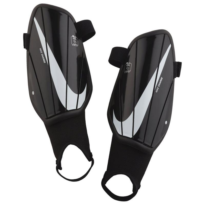 Nike Charge Shin Pads Juniors Black/White