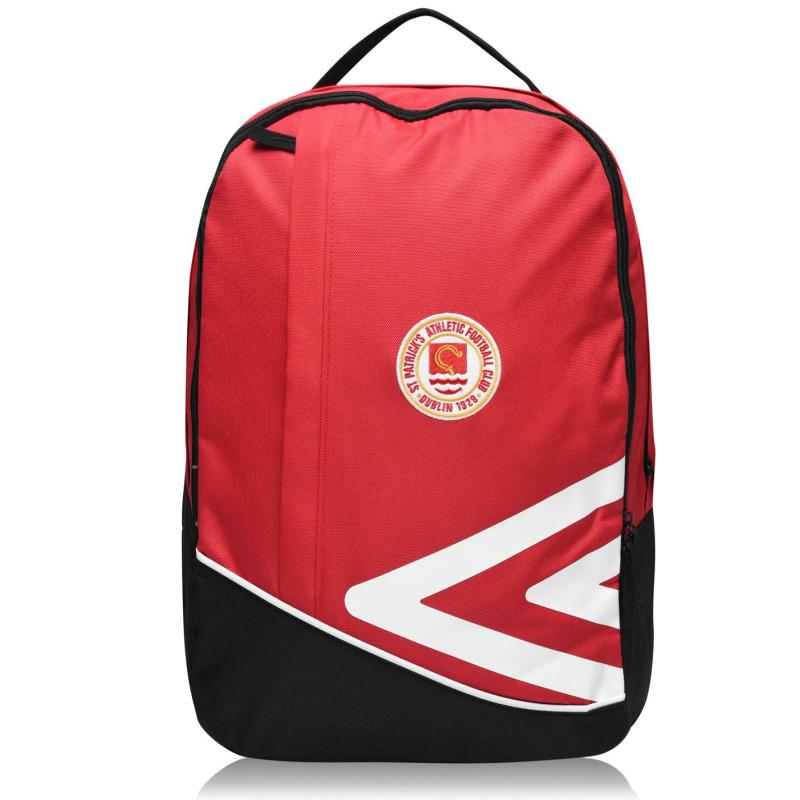 Umbro St Pats Back Pack Red/White