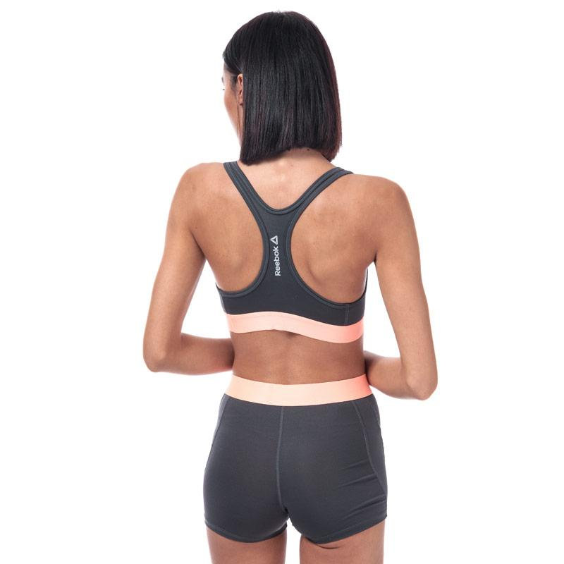 Reebok Womens Mya Sports Shorts Grey pink