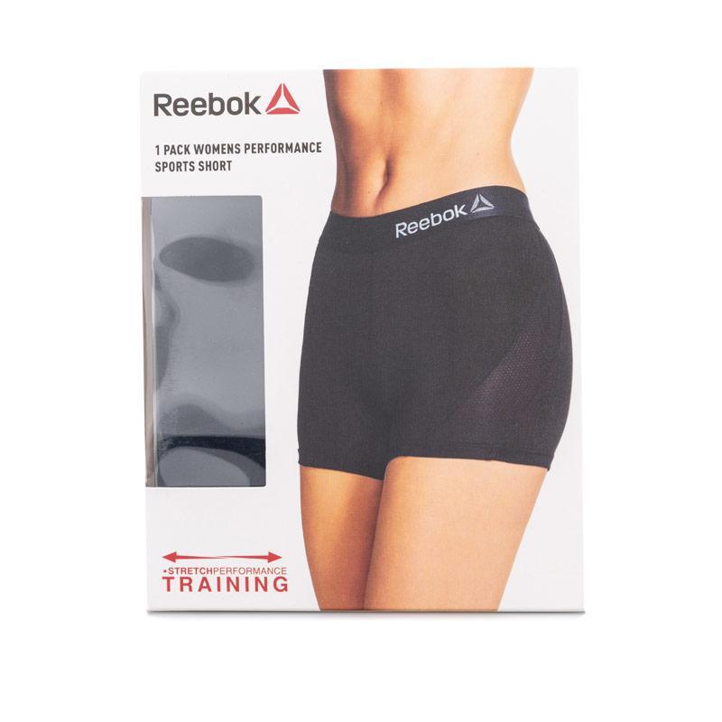 Reebok Womens Mya Sports Shorts black blue