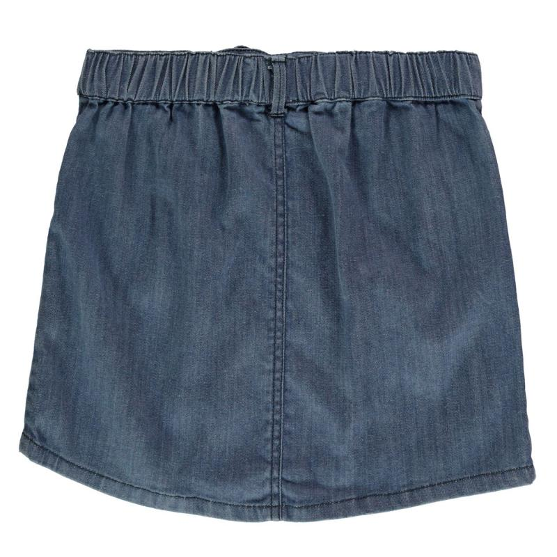 Crafted Essentials Pocket Denim Skirt Infant Girls Denim