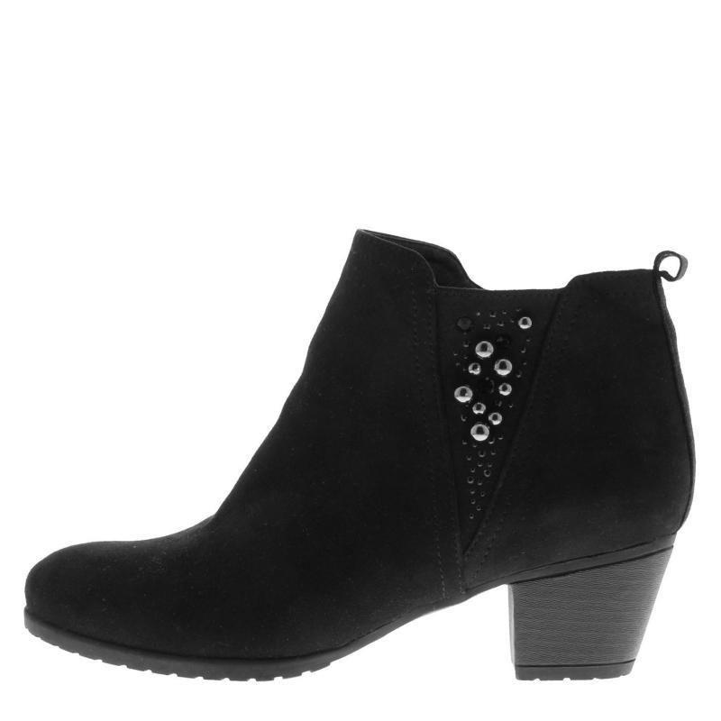 Miso Chloe Ladies Chelsea Boots Black