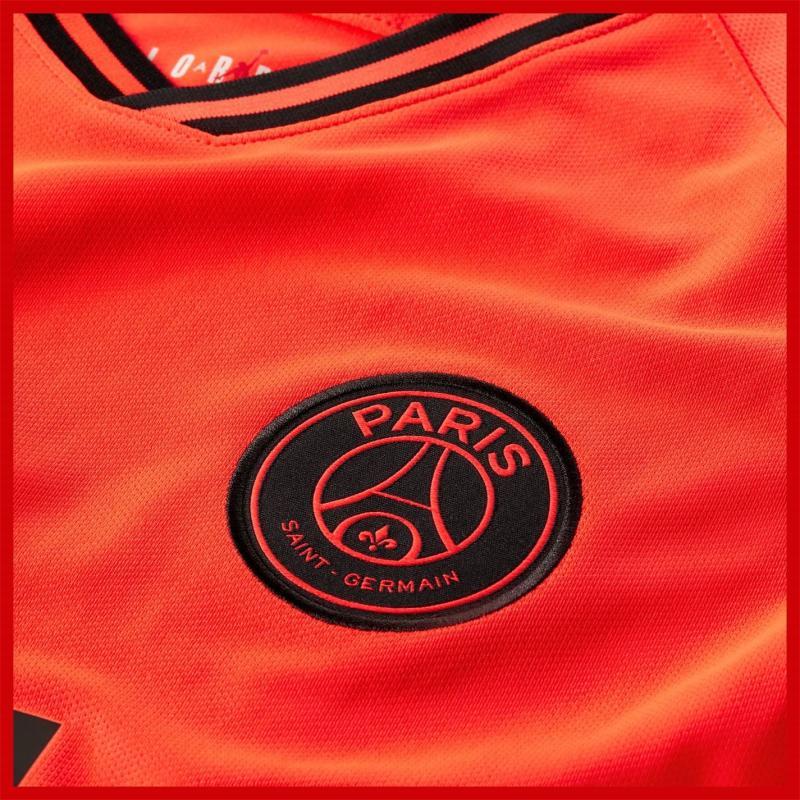 Air Jordan Paris Saint Germain x Jordan Away Shirt 2019 2020 Red/Black