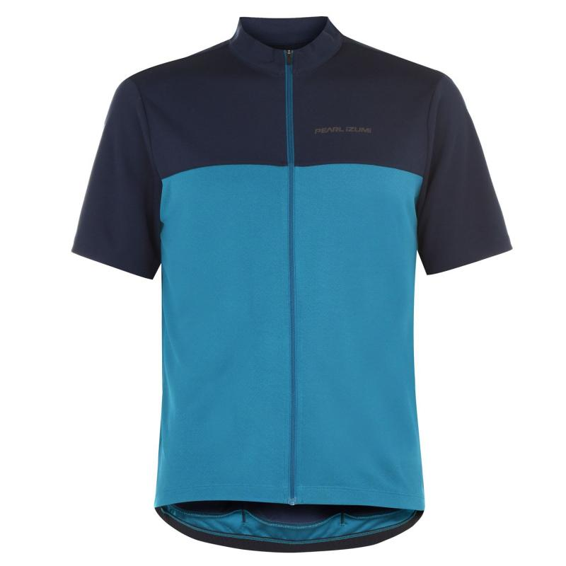 Pearl Izumi Quest Cycling Jersey Mens Teal/Navy