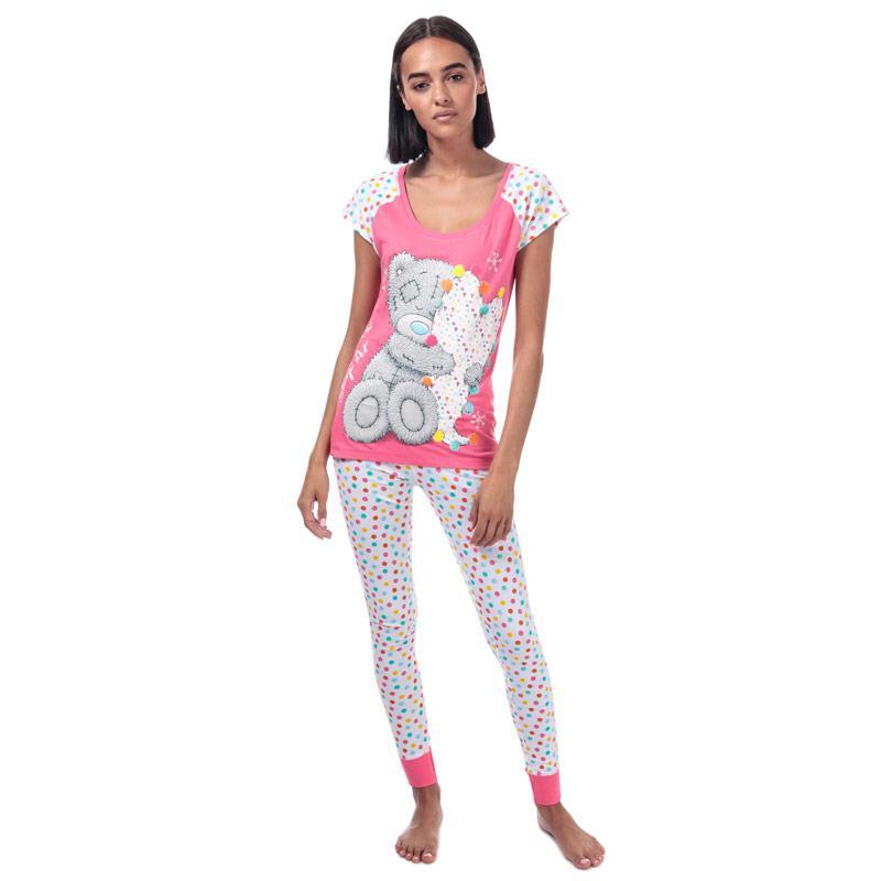 Pyžama Me To You Womens Tatty Teddy Pyjamas Pink