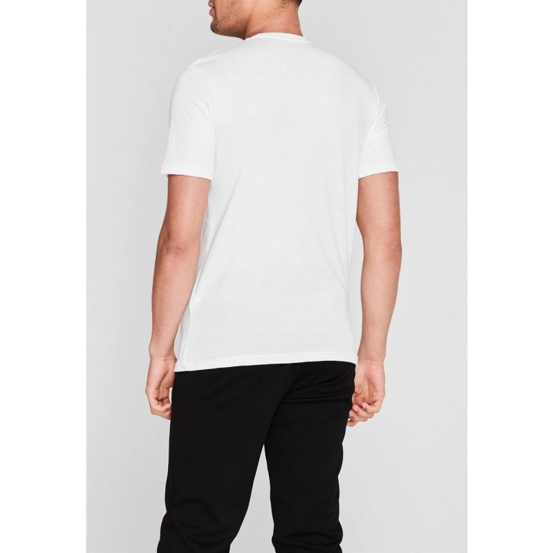 Tričko Under Armour Sportstyle Logo T Shirt Mens White/Black