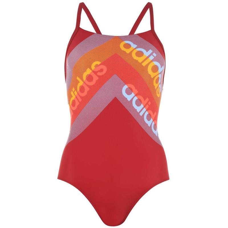 Plavky adidas Infinitex Fitness Eco Swimsuit Ladies ACE3