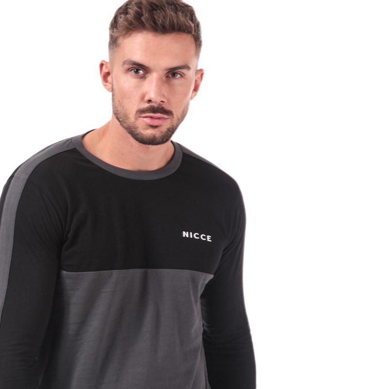 NICCE Mens Shale LS T-Shirt Black