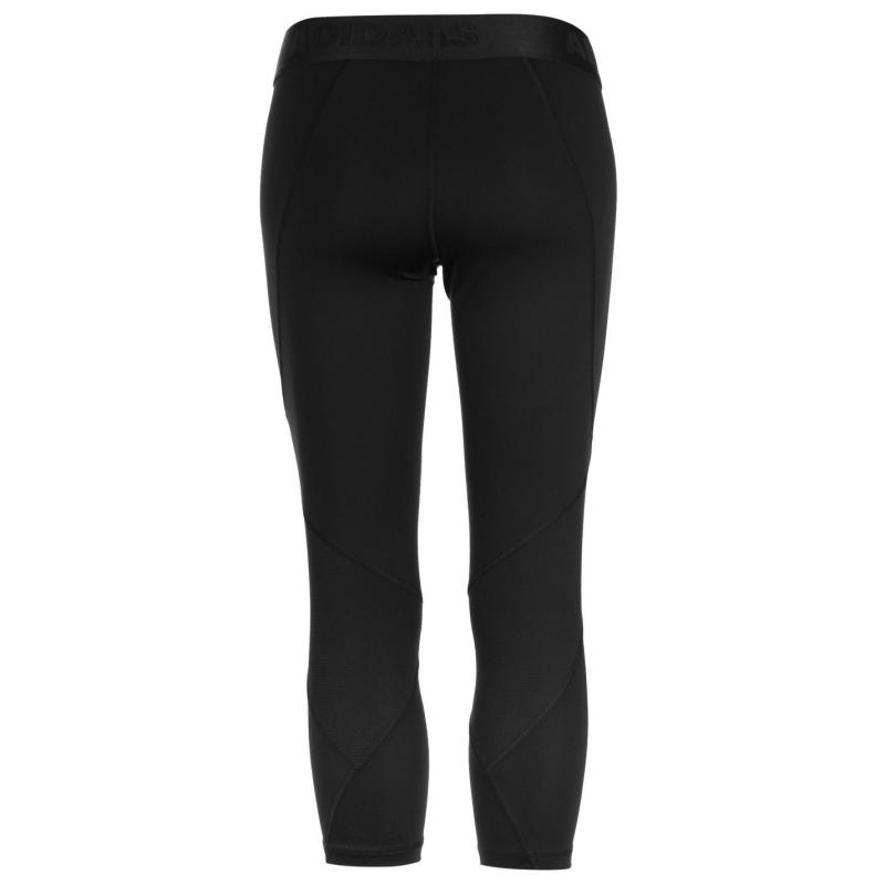 Adidas Alphaskin Sport Three Quarter Tights Ladies Black