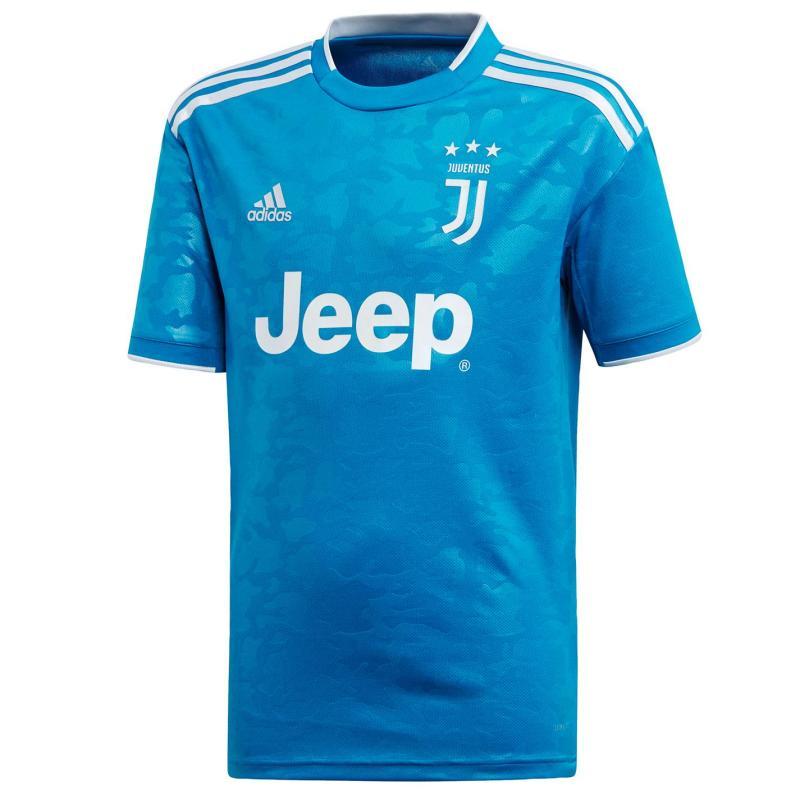 Adidas Juventus Third Shirt 2019 2020 Junior Blue