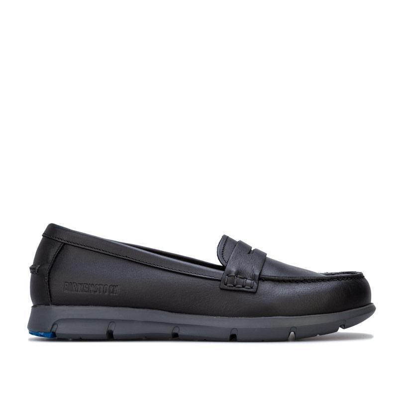 Birkenstock Womens Saitama Shoes Narrow Width Black