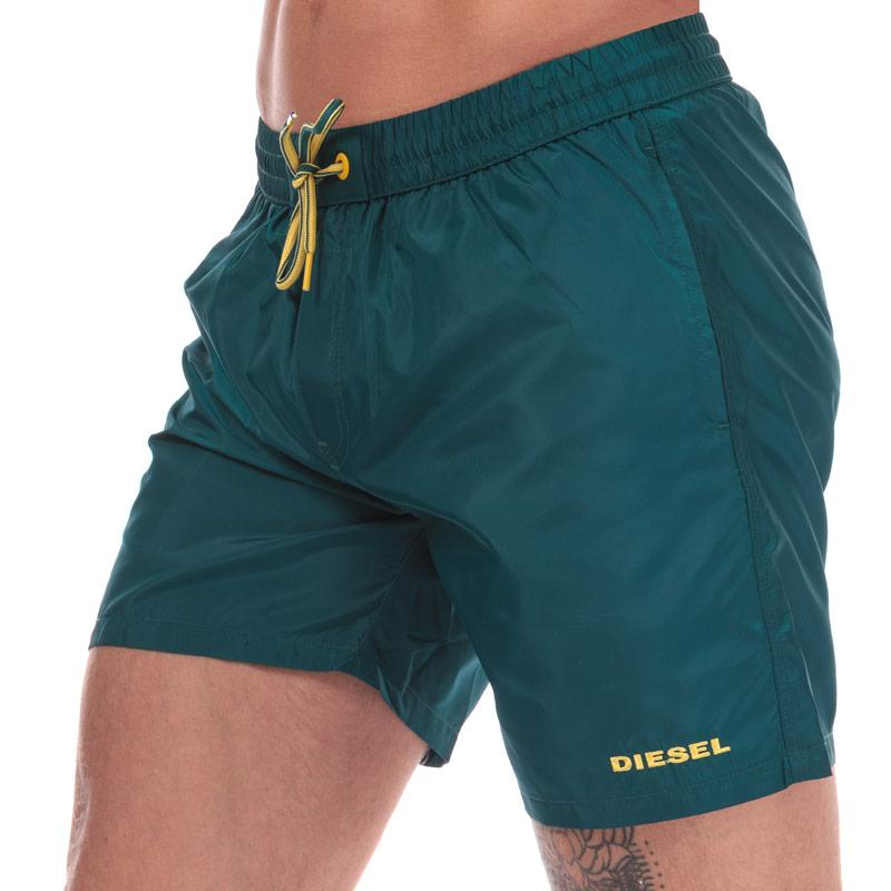 Diesel Mens BMBX 2.017 Swim Shorts Teal