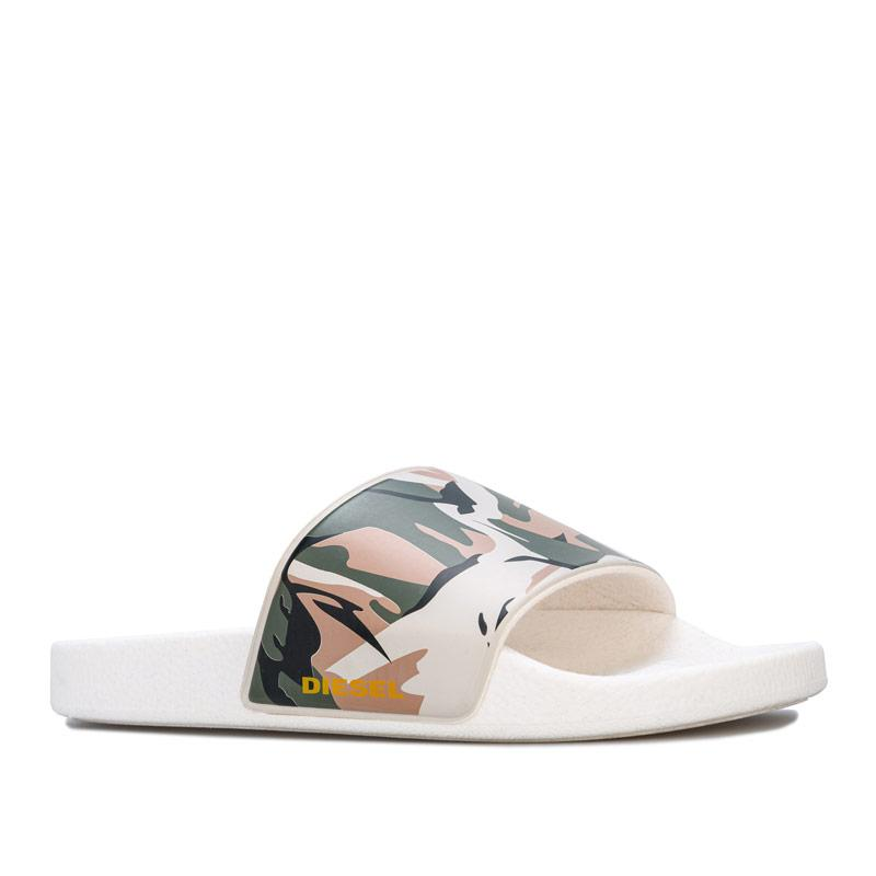 Diesel Mens Sa-Maral slides Multi colour
