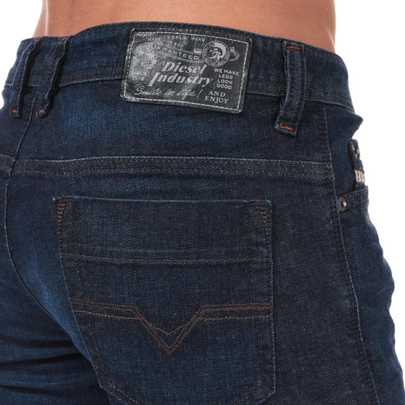 Diesel Mens Safado Jeans Indigo