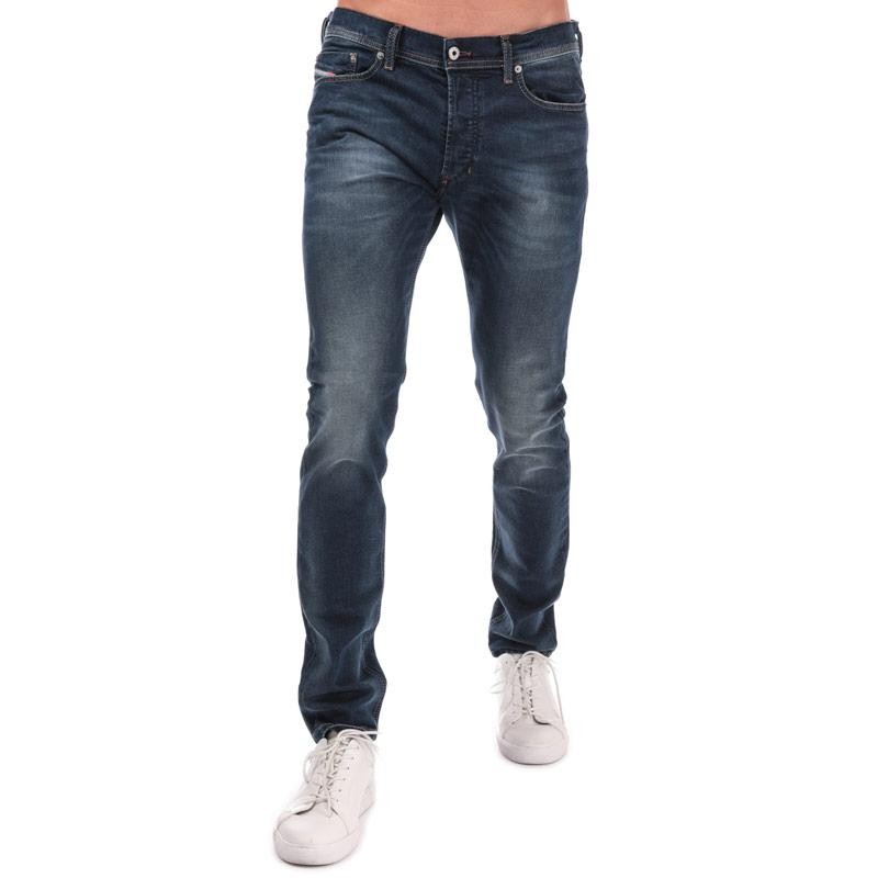 Diesel Mens Tepphar Stretch Jeans Denim