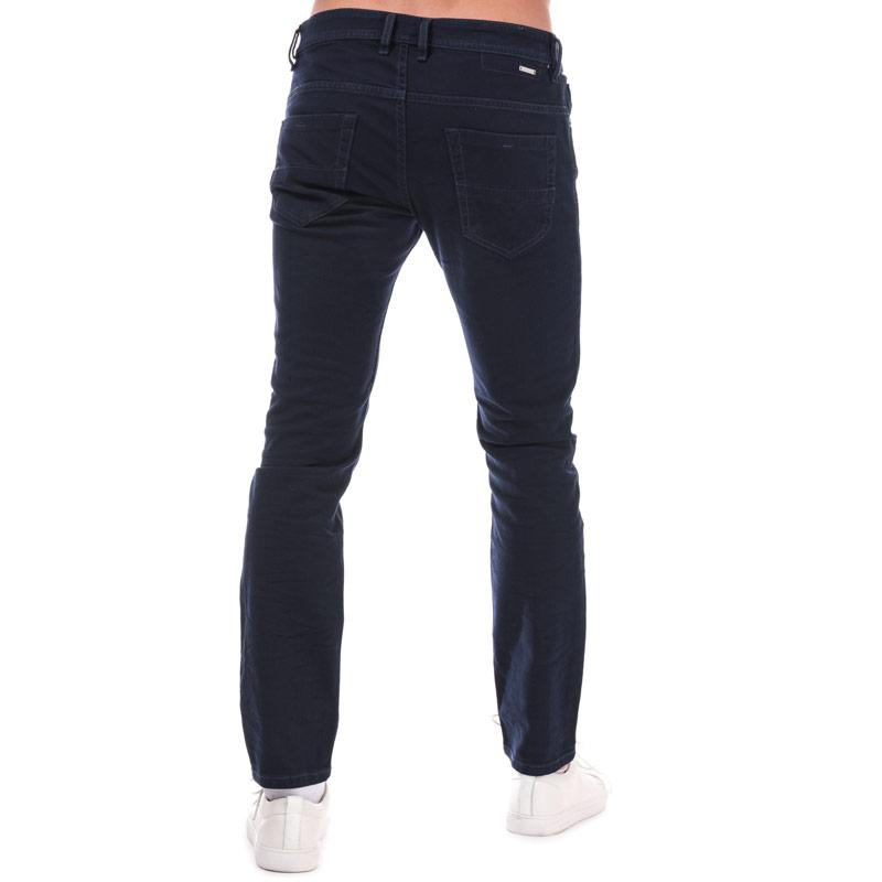 Diesel Mens Thommer Slim Skinny Jeans Blue Velikost - W36 R