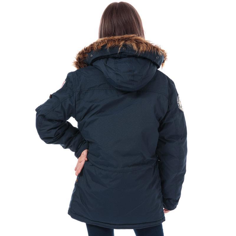 Alpha Industries Womens Polar Jacket Dark Blue