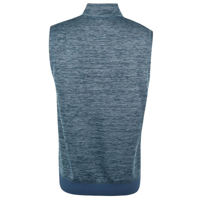 Callaway Zip Vest Mens Blue Coral Heat