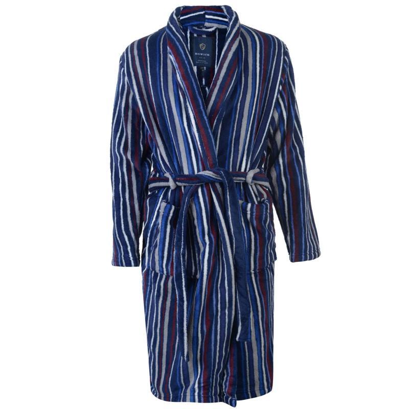 Pyžamo Howick DG MULTISTRIPE FLEEC Blue S/M