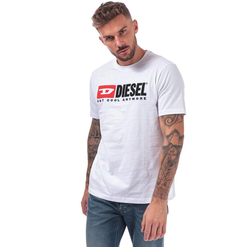 Tričko Diesel Mens Just Division T-Shirt White