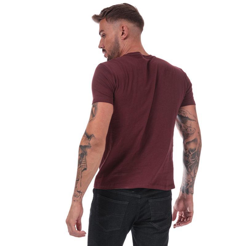Tričko Diesel Mens UMLT-Jake T-Shirt Burgundy