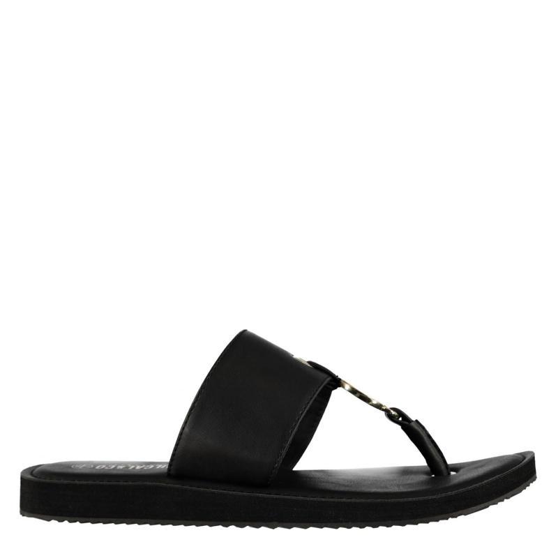 Boty SoulCal Hawaii Ladies Sandals Black
