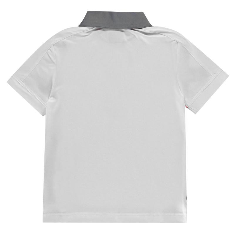 Kalhoty Callaway Block Golf Polo Shirt Junior Boys Bright White