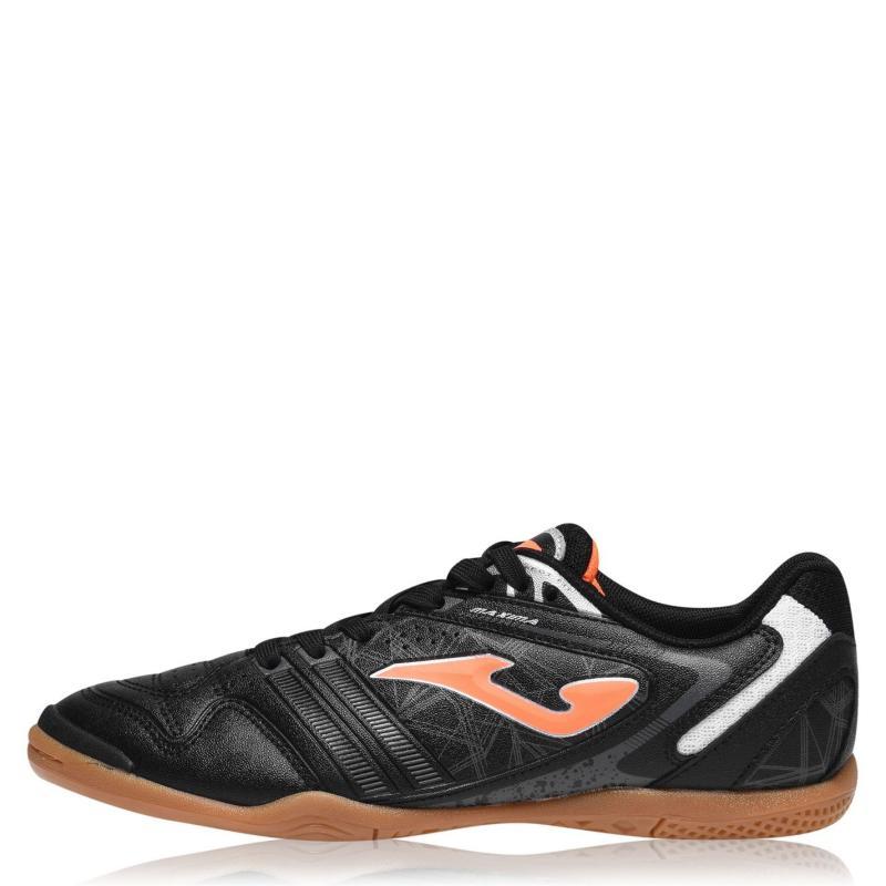 Joma Maxima Indoor Football Boots Mens Black/FluOrange