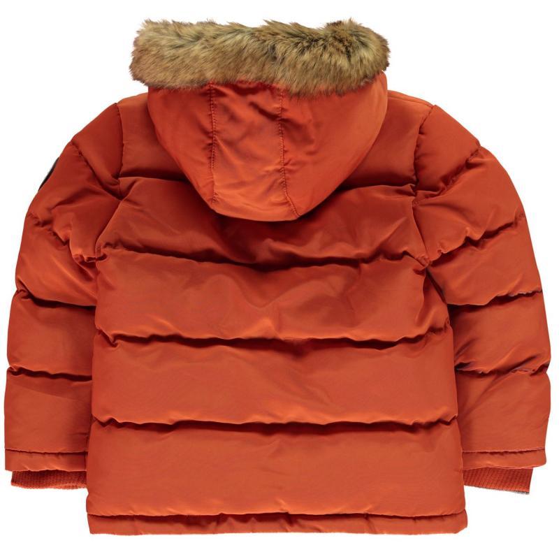 SoulCal Bubble Jacket Infants Orange