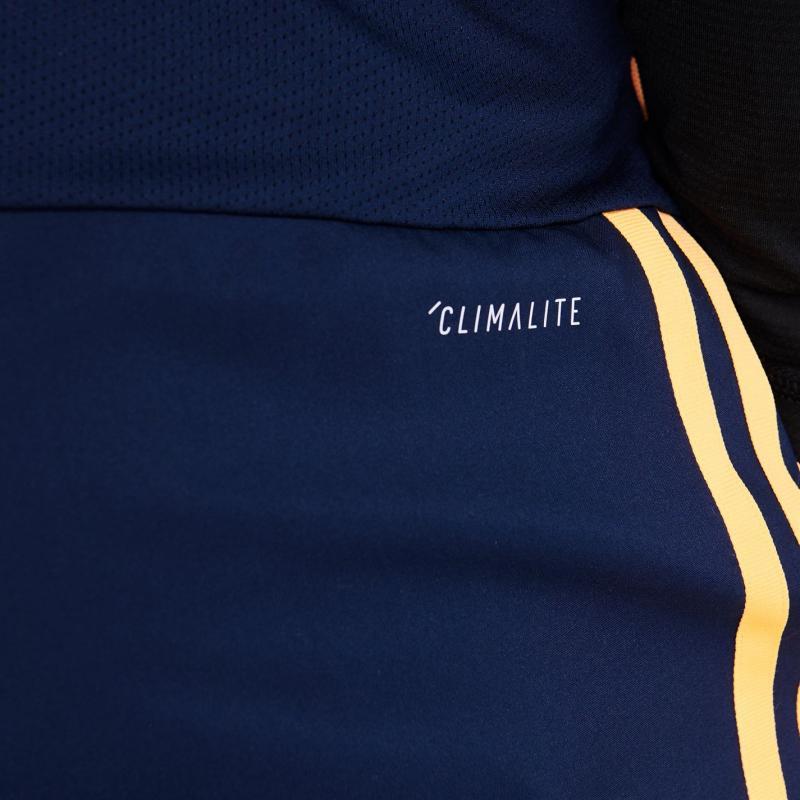 Adidas Sereno Pro Shorts Mens Navy/Orange