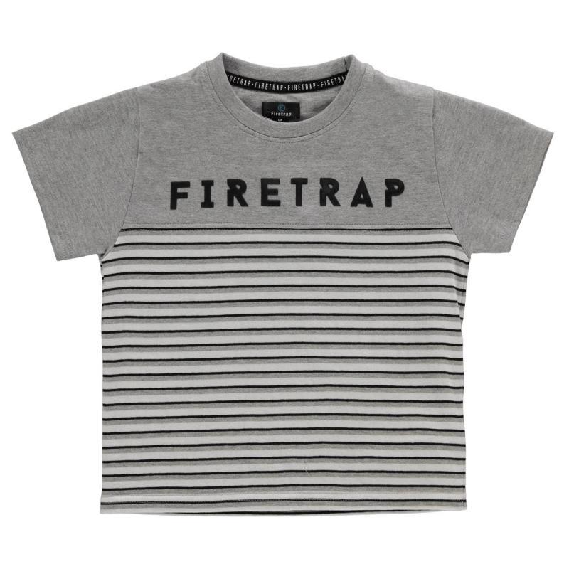Tepláky Firetrap 3 Piece Jogging Set Infant Boys Grey