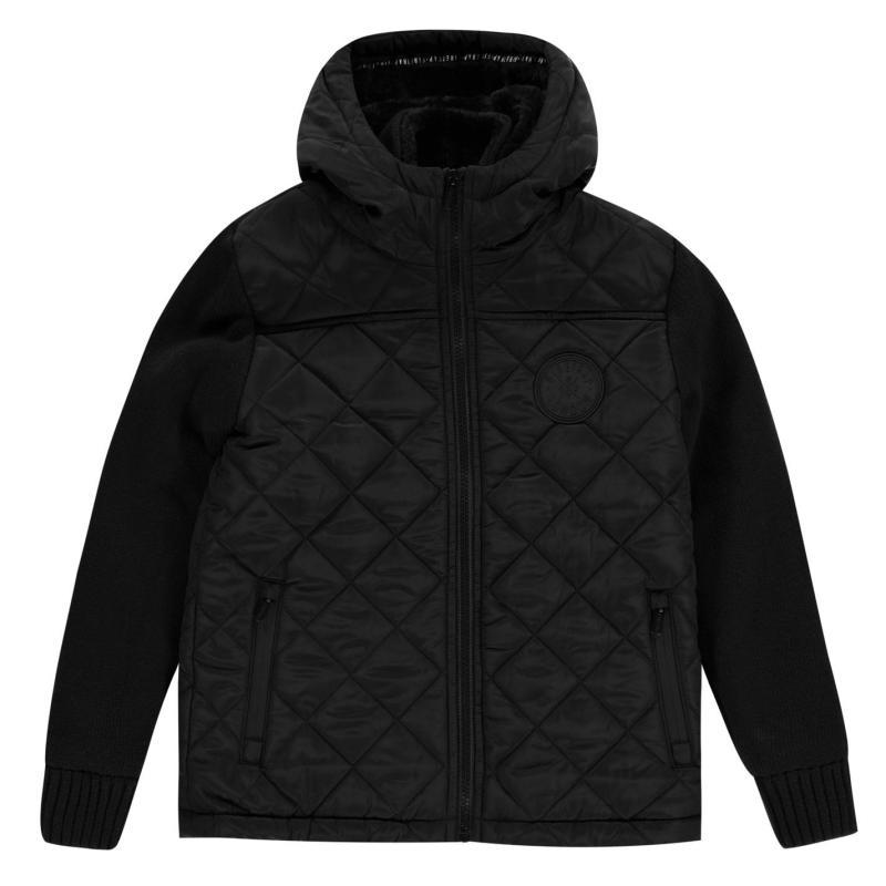 Bunda Firetrap Sartorial Knit Junior Boys Black