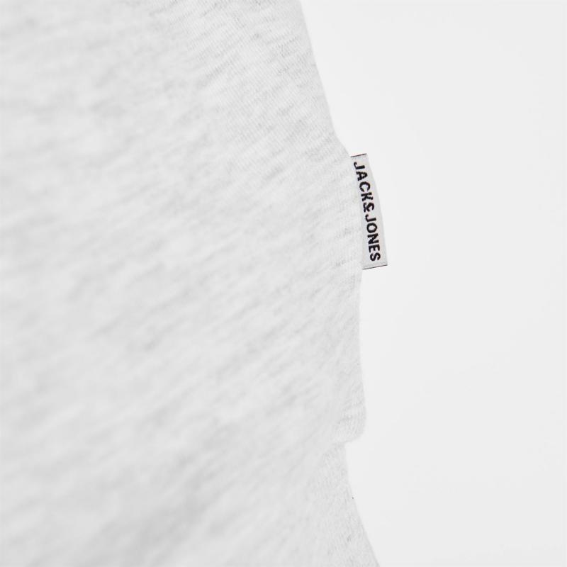 Mikina Jack and Jones Crew Sharp Dex Sweatshirt White Melange