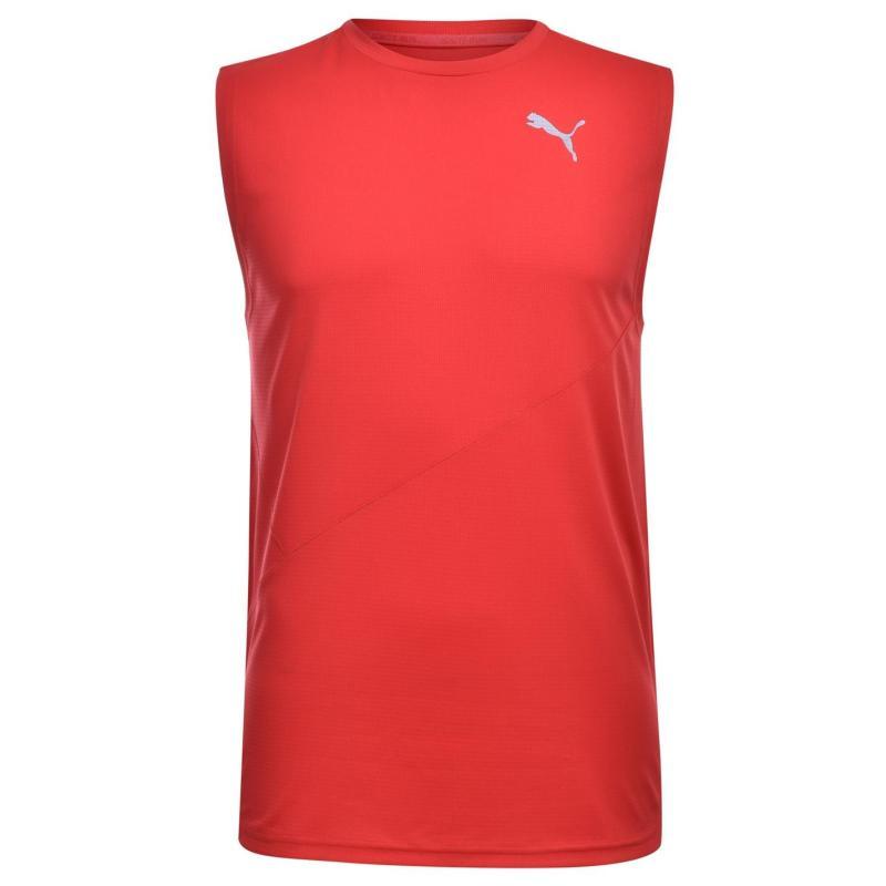 Tílko Puma Vest Mens High Rish Red